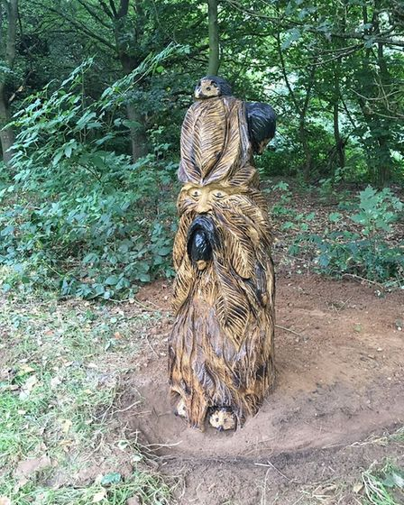 A variety of sculptures can now be seen at Catton Park