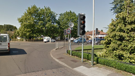 A crash happened at the Boundary Road end of Whiffler Road in Norwich on Saturday, September 18.