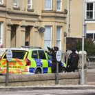 Police have been called to London Road South in Lowestoft.