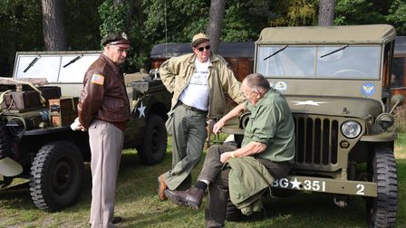 North Norfolk Rail in Holt held a 1940s festival PICTURE: CHARLOTTE BOND