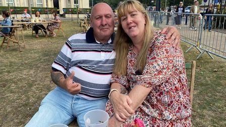 Dave Whitmore, 71, and Michelle Harris, 54