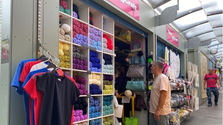 The Yarn and Craft Store in Norwich Market