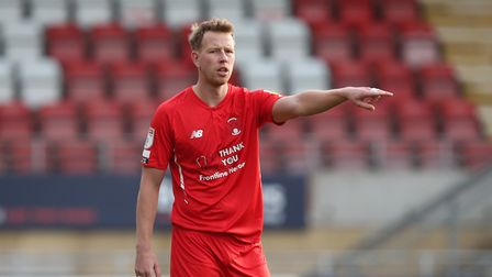 Adam Thompson of Leyton Orient during Leyton Orient vs Port Vale, Sky Bet EFL League 2 Football at T