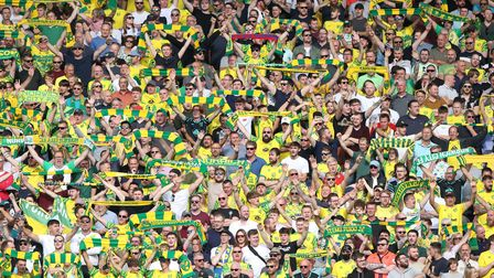 Norwich City fans answered Daniel Farke's call before the game