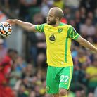 Teemu Pukki of Norwich looks dejected after his side concedes itÕs 2nd goal during the Premier Leagu