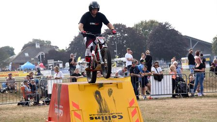 Copdock motor cycle show at Trinity Park PICTURE: CHARLOTTE BOND