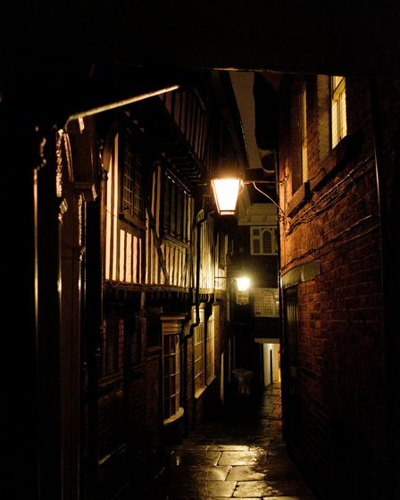 York's historic streets are the place for an atmospheric ghost walk