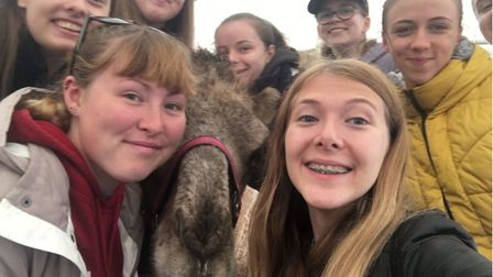 Young people from MAP visited a camel park as part of their summer activities.