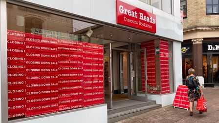 Great Reads Discount Bookstore is closing down in Castle Street
