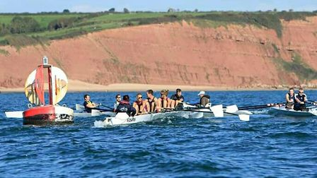The next league regatta is in Exmouth next month