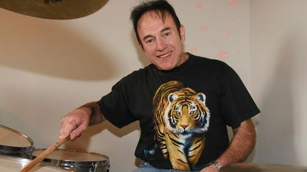 Professional Norwich drummer Caddy Lee who is looking for a new band to start/join. Picture: Daniell