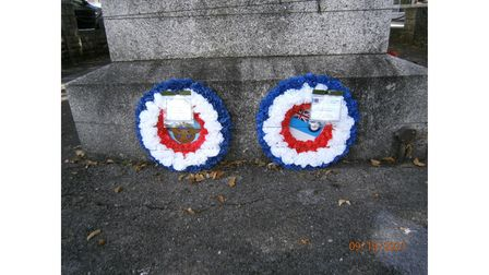 Wreaths laid in Paignton RBL Battle of Britain service