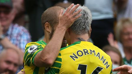 Mathias Normann provided the assist for Teemu Pukki's goal in Norwich City's Premier League defeat to Watford