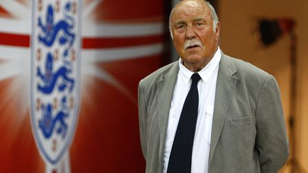 File photo dated 10-06-2009 of Jimmy Greaves makes his way on to the pitch at half time to collect h