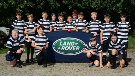 u12s - Torquay during the Land Rover Premiership Rugby Cup with Exeter Chiefs at Crediton Rugby Club