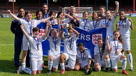 Middlesex girls crowned as champions of England