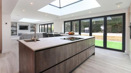 Properties with large open kitchen are in trend according to Dales & Peaks Estate Agents in Chesterfield