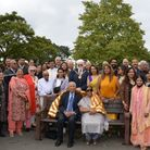 The unveiling of the bench, which took place last Wednesday, was attended by a large crowd