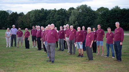 The Huntingdon Male Voice Choir is back and in fine voice.