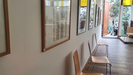 This is the first of many exhibitions to come for the east London Unitarian Church.
