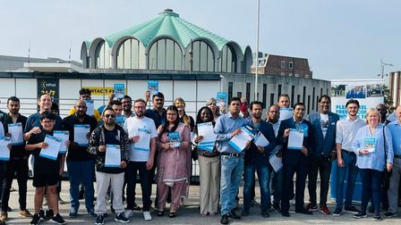 Members of the Redbridge Conservatives on their action day last week
