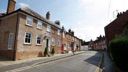 Fishpool Street, St Albans is one of the prettiest roads in Hertfordshire.