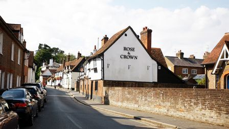 St Michael's Street, St Albans is one of the prettiest streets in Hertfordshire.