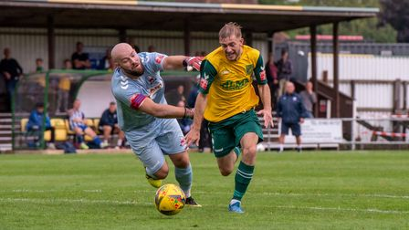 Callum Stead has left Top Field after make a shock move to Northern Premier League South Shields from Hitchin Town.