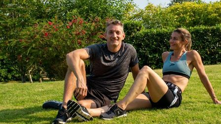 Claire and James Davis run Midlife Mentors coaching clients on the menopause and andropause