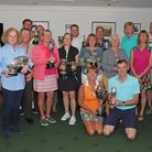 The winners of Brookmans Park Golf Club's own competitions.