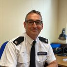 Superintendent Adam Gallop is now area commander for Huntingdonshire.
