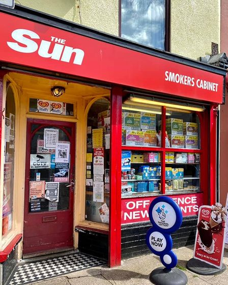 Toms Smokers Cabinet convenience shop on Bells Road.