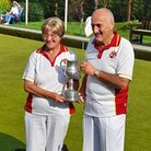 Trevor Pipe and Yvonne Rayner Winners Devon Mixed Pairs 2021