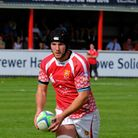 Barnstaple Rugby action