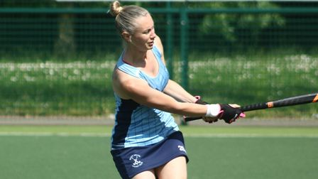Sue Glover hit the winning goal for St Neots as the ladies' first-team beat Cambridge on the opening day of the new season.