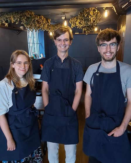 Emily Bridges, Elliot Dransfield and Johnny Durant own Norwich's first micro pub