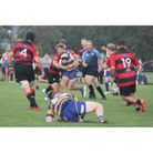 Clevedon RFC'sLowis on his 500th game against Gordano RFC last Saturday.