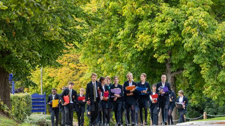 Cranleigh independent Senior School in Surrey teaches students grit and perseverance.
