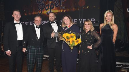 Scoff Paper won the Start Up Business of the Year award