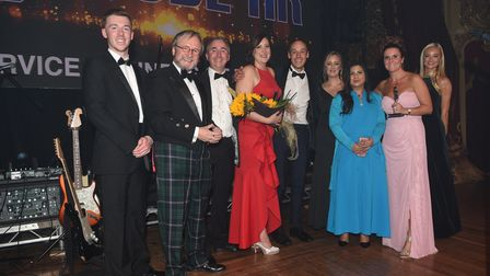 Cube HR won the Service Business of the Year award