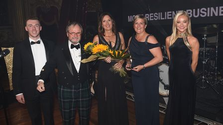 Barry Robinson Leisure was named the Most Resilient Business of the Year