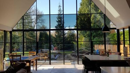 Metwin prioritise supplying larger panes of glass by Crittall windows to bring maximum light into the home in Harlow, Essex.