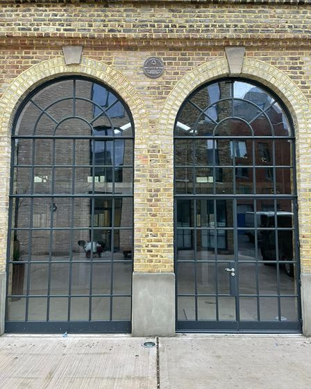Large, arched pane glass by Crittall windows supplied by Metwin, leading window supplier in Harlow, Essex.