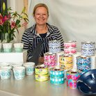 Ceramic and digital artist Claire Gutsell at Venue 3 Purn House Farm, Bleadon. North Somerset Arts W