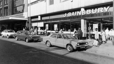 Norwich Buildings SSainsbury's Store in St. Stephen's. The store was moved to Queens Road and Wo