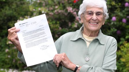Pamela Farley was awarded a British Empire Medal for her volunteer work with the Woodland Trust.