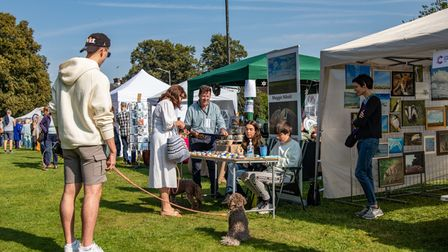 Harpenden Food and Drink Festival and Art on the Common.