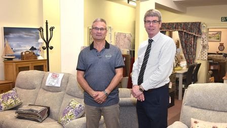 Michael Cook Peter Cook Cooks Furnishers Lowestoft closure