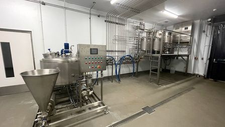 The pilot dairy facility has opened at the Food Works.