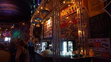 The bar inside the new-look Empire in Great Yarmouth